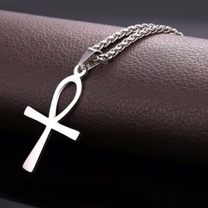 New ATOR Ankh Necklace Stainless Steel Pendant